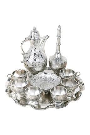 ALEYHA Zemzem Seti-takımı 10 Parça Gümüş Renk
