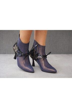 Lo Mejor Shoes Bubu Süet Özel Tasarım Kadın Ayakkabı - Renk Mor