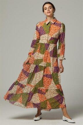 Loreen Elbise-oranj 22262-157