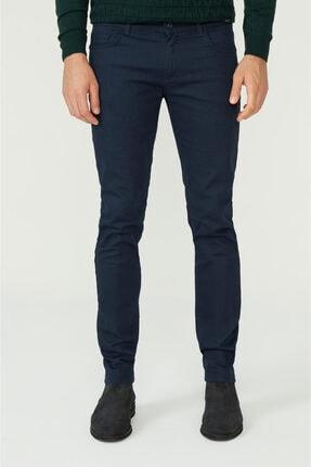 Avva Erkek Lacivert 5 Cepli Slim Fit Pantolon A02y3055