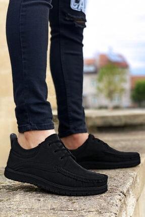 BIG KING Siyah Bağcıklı Erkek Ayakkabı