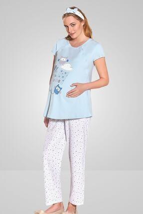 Berrak Kadın Hamile Pijama Takımı 454