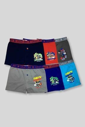 Tutku Çocuk Boxer 6'lı Paket