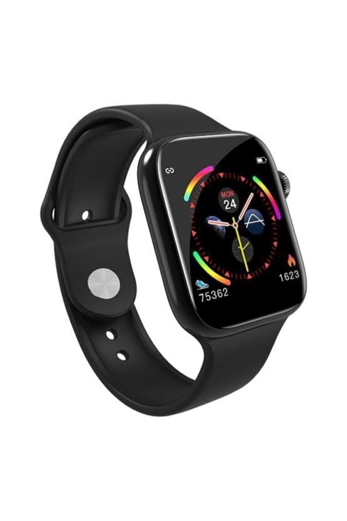 POLYGOLD W4 Akıllı Saat Smart Watch Dokunmatikli Ekran Adım Sayar 2