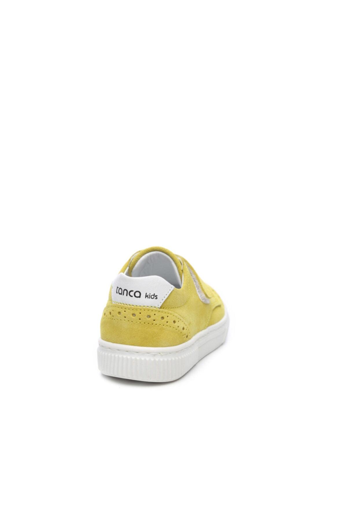 KEMAL TANCA Unisex Çocuk Sarı  Derı Çocuk Ayakkabı Ayakkabı 407 2028 Cck 21-30 Y19 2