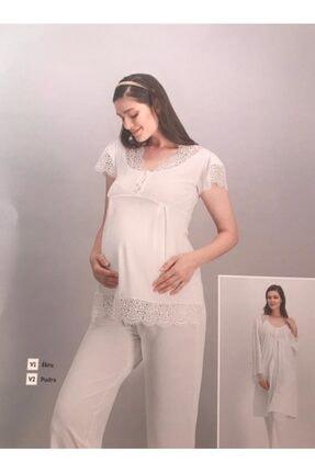 Arnetta Bayanlohusa Üçlü Pijama Takımı