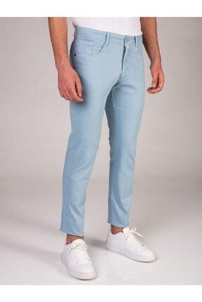 Dufy Mınt Düz Erkek Pantolon - Slım Fıt