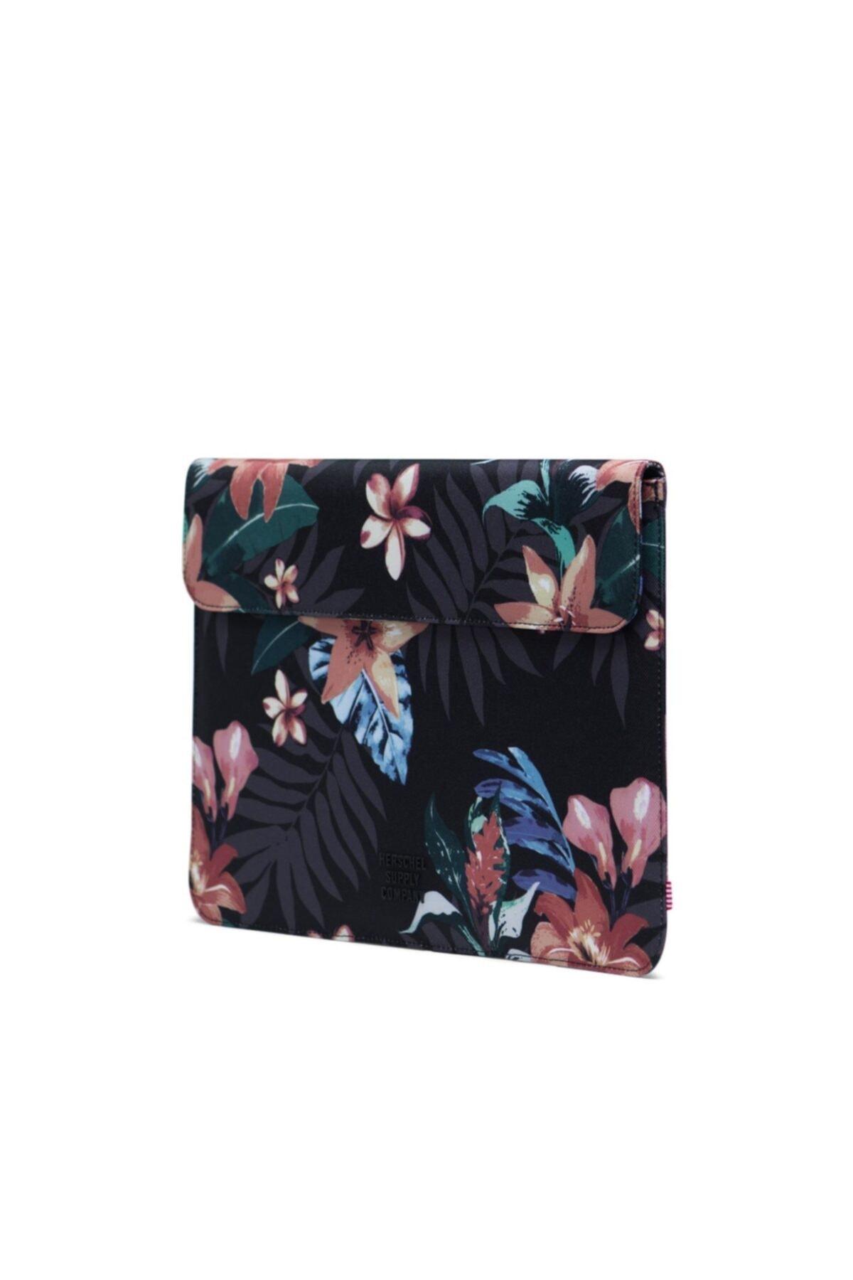 Herschel Supply Co. Herschel Supply Spokane Sleeve For New 13 Inch Macbook Summer Floral Black 2