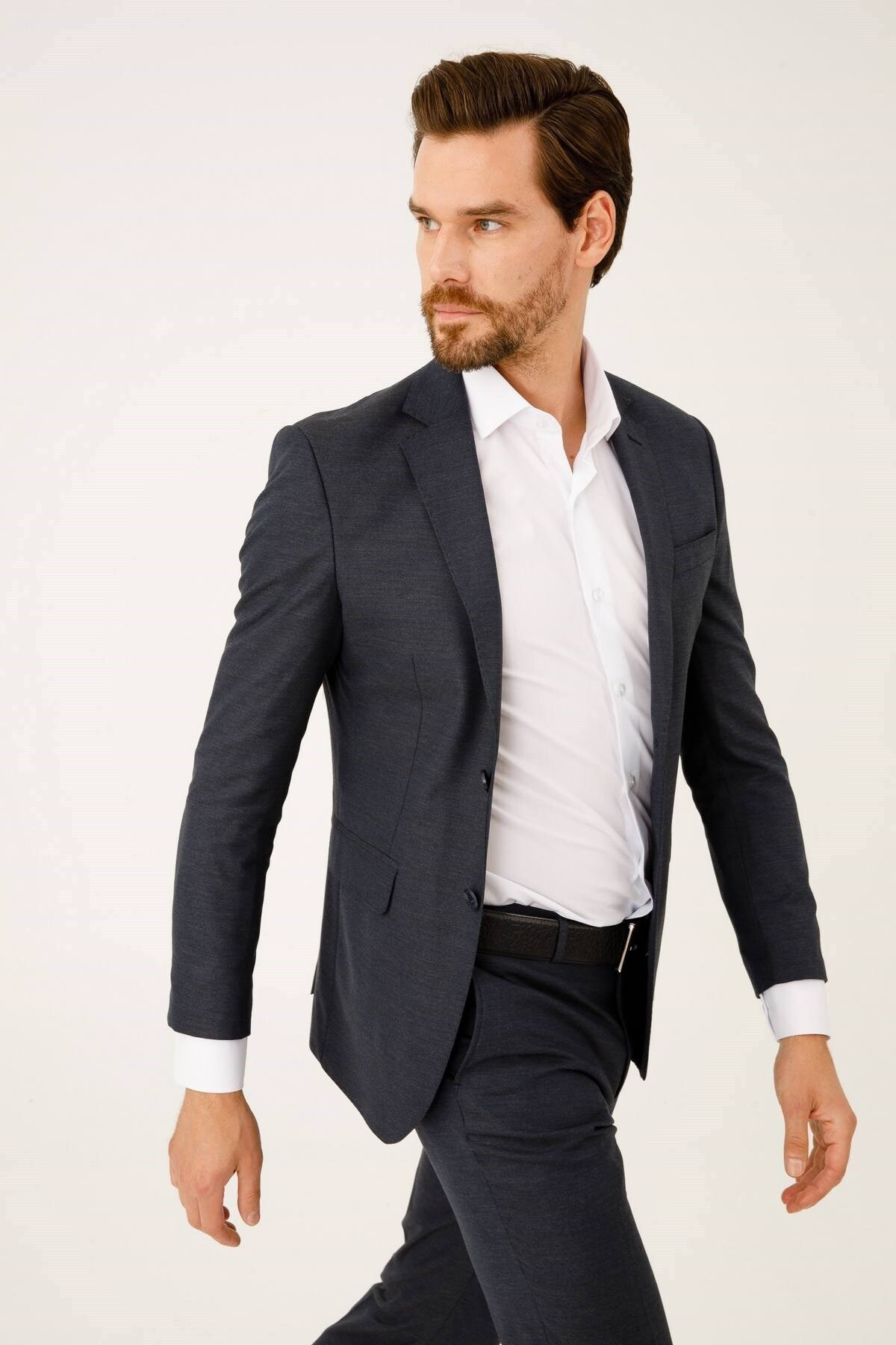 İgs Erkek A.laci Slım Fıt / Dar Kalıp Std Takım Elbise 1