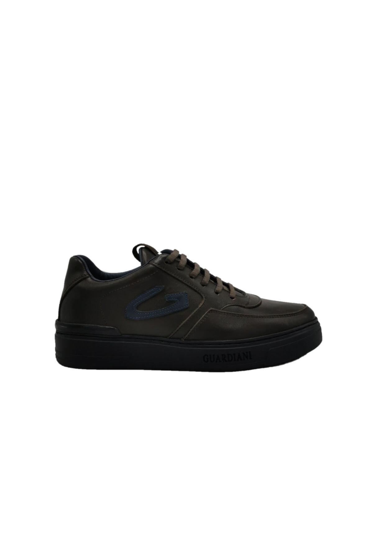 ALBERTO GUARDIANI Hakiki Deri Sneaker Erkek Ayakkabı 1