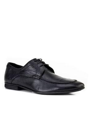 Cabani Erkek Ayakkabı Siyah Naturel Floter Deri
