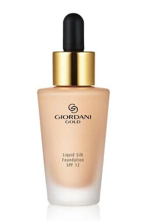 Oriflame Giordani Gold Silk Likit Fondöten Spf 12 - Vanilla