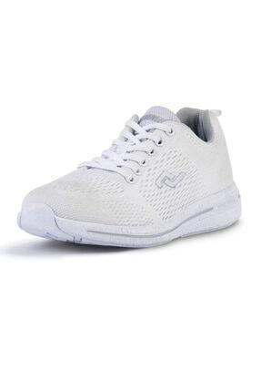 Jump Kadın Beyaz Ortopedi Hafif Taban Günlük Ayakkabı