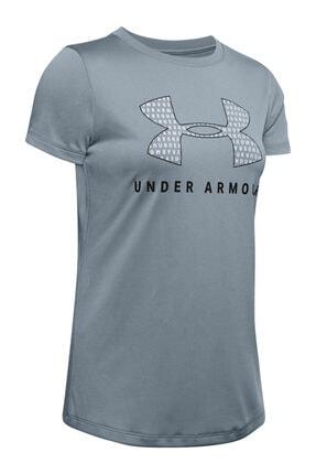 Under Armour Kadın Spor T-Shirt - Tech Sportstyle Graphic Ssc - 1351963-396