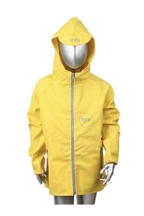 IGOR W70100 Sparrow Sarı Yağmurluk Unisex Giyim
