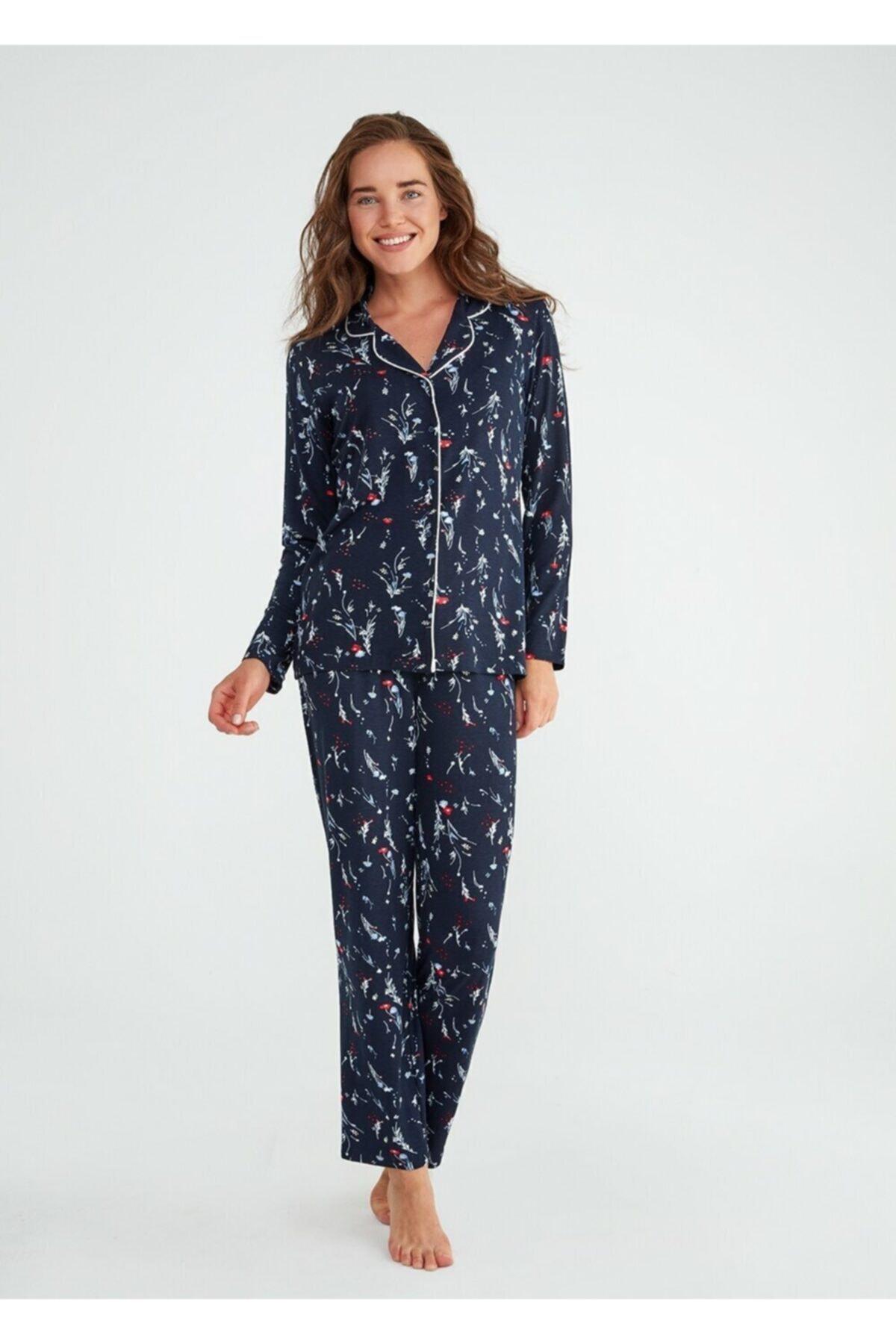 SUWEN Exotic Maskulen Pijama Takımı 2