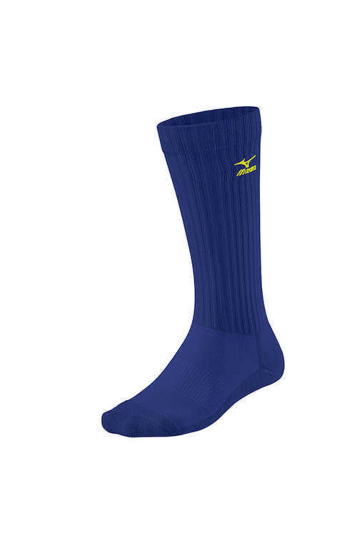 MIZUNO Volley Socks Long Unisex Çorap Mavi 1