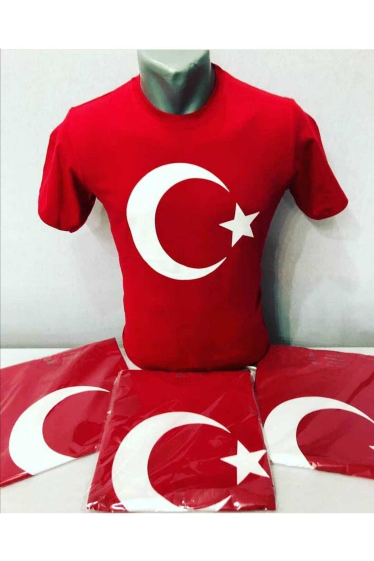 Zeplin Türk Bayraklı Tişört 2
