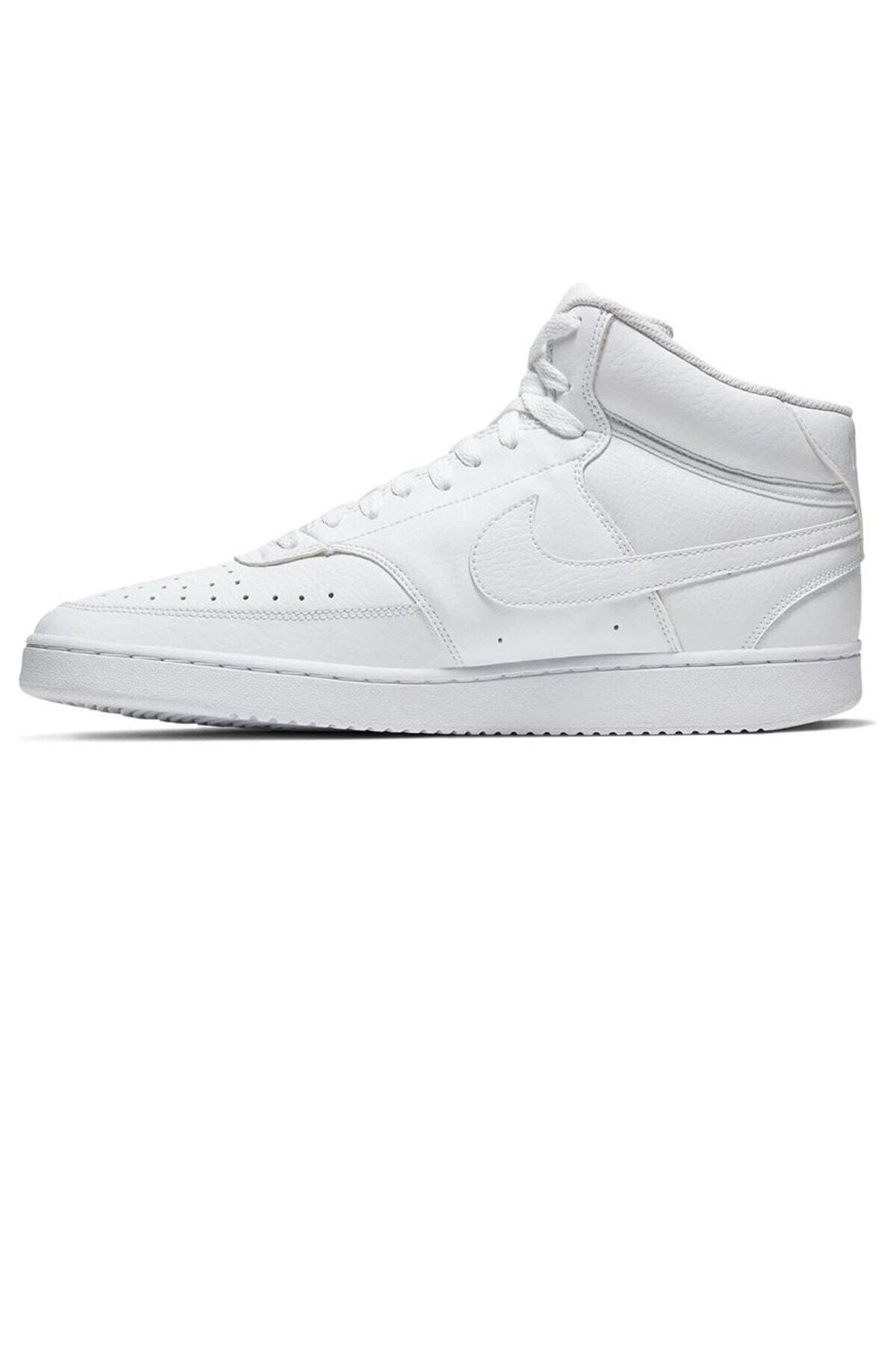Nike Court Vision Mid Erkek Günlük Ayakkabı Cd5466-100 1