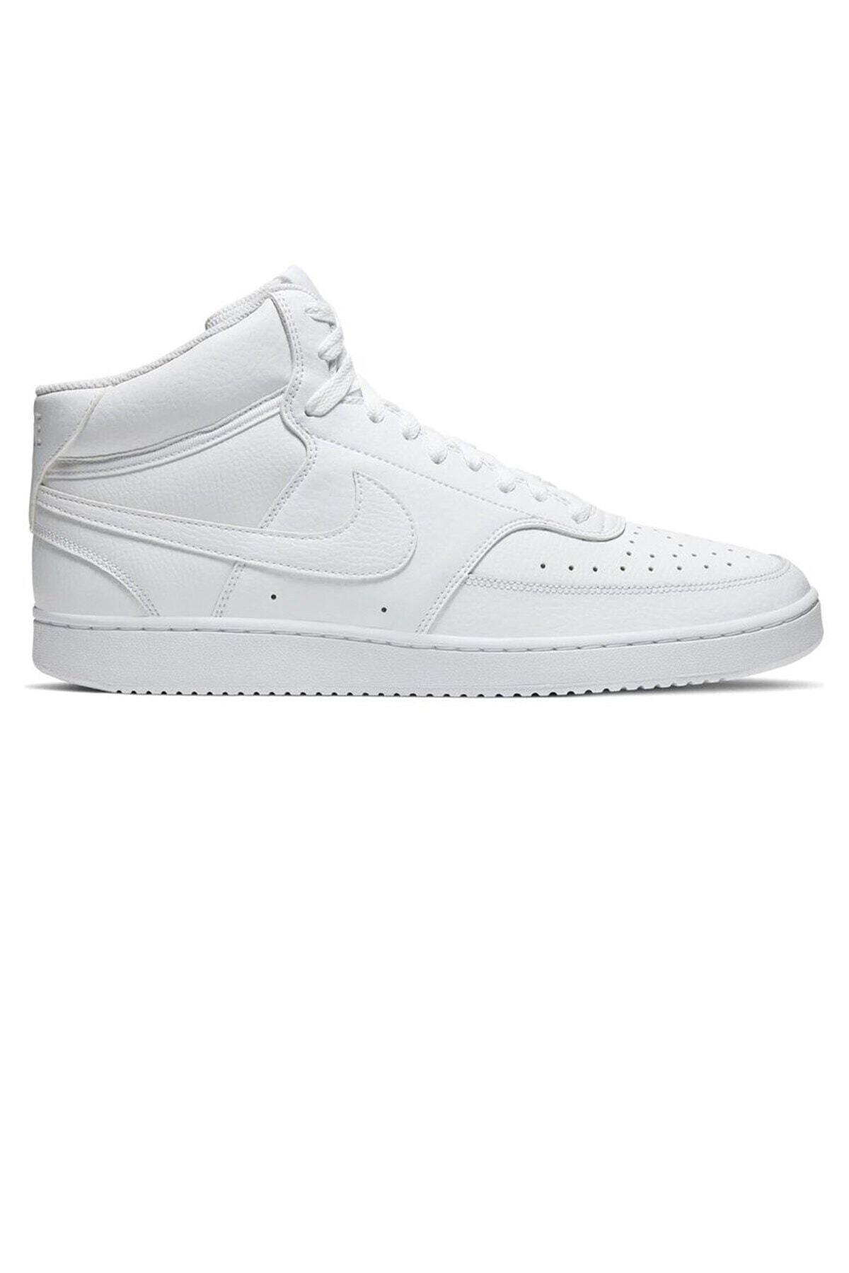 Nike Court Vision Mid Erkek Günlük Ayakkabı Cd5466-100 2