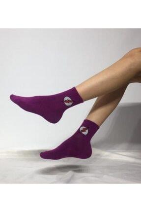 ADEL ÇORAP Kokulu Unisex Flash(Şimşek) Desenli Kolej Çorabı