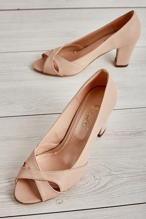 Bambi Nude Kadın Açık Ayakkabı