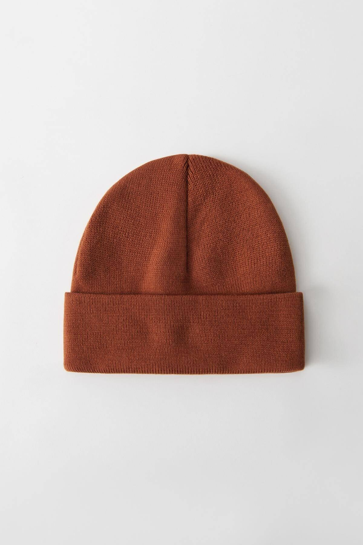 Addax Kadın Kiremit Şapka Şpk12835 - Aks -e5 ADX-0000020470 2