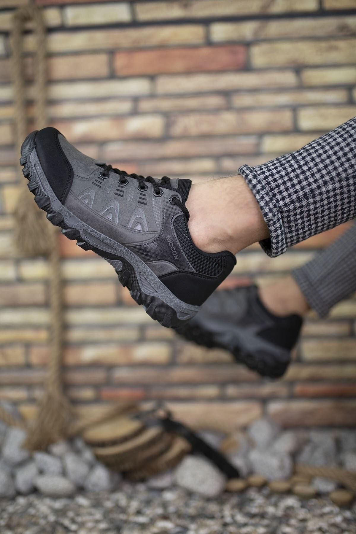 Riccon Füme Erkek Trekking Ayakkabı 00127053 2