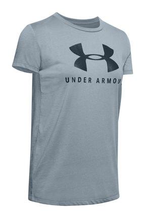 Under Armour Kadın Spor T-Shirt - Graphic Sportstyle Classic Crew - 1346844-396
