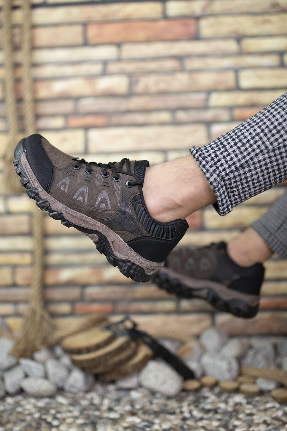Riccon Kahverengi Erkek Trekking Ayakkabı 00127053 2