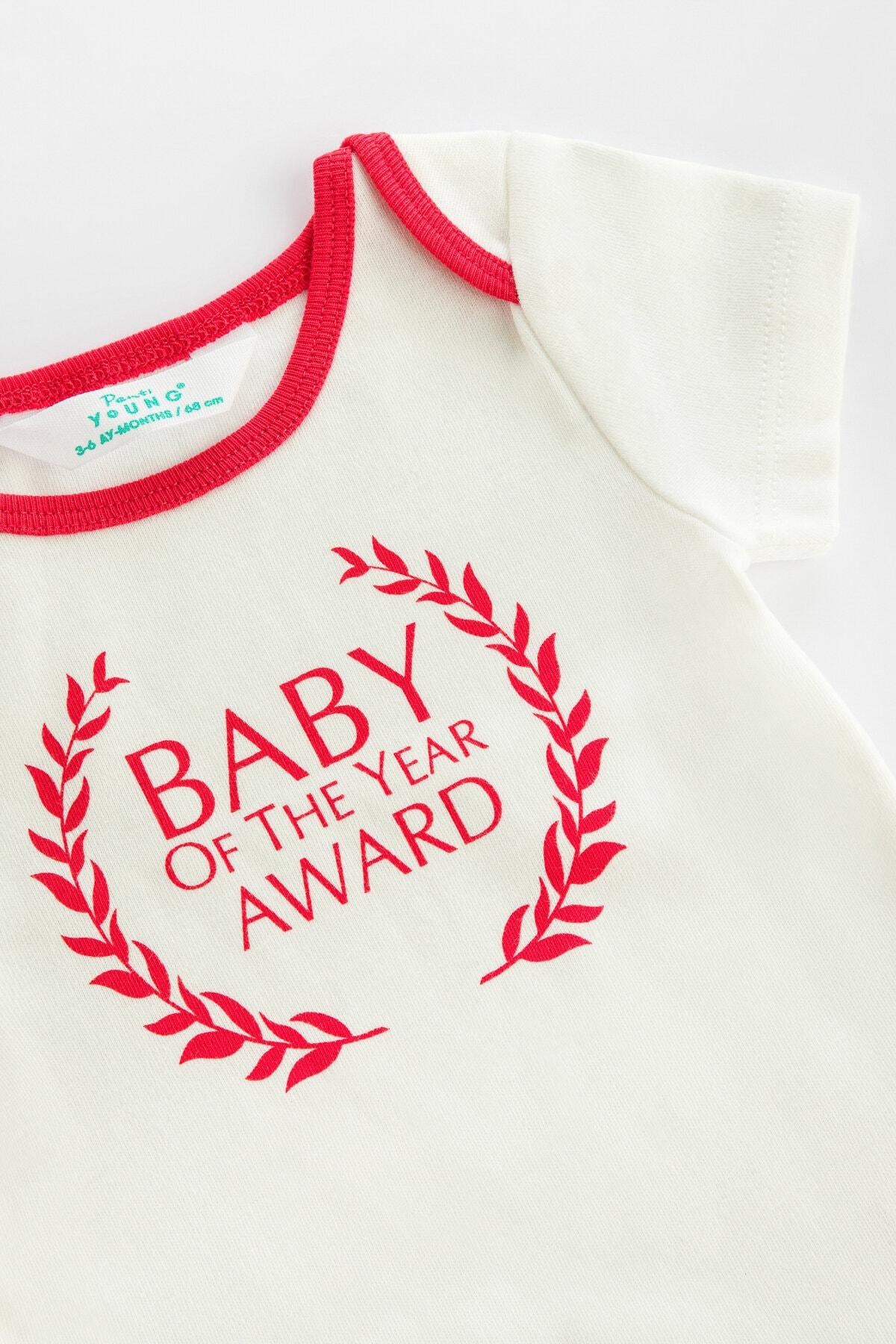 Penti Beyaz Beyaz Bebek Family Award Bodysuit 2