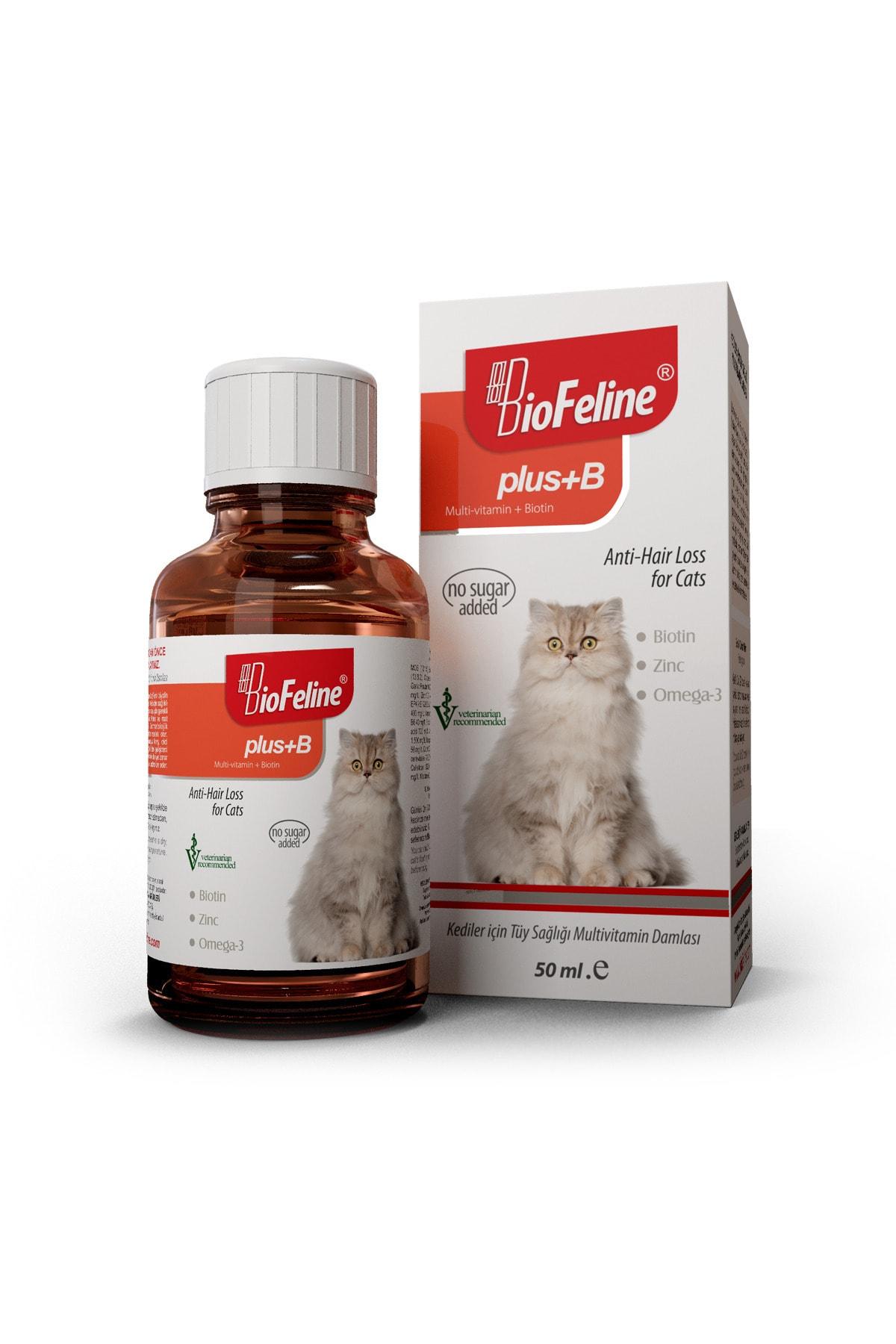BioFeline Plus+b For Cats 50 Ml. ( Kediler Için Tüy Sağlığı Damlası ) 1