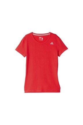 adidas Kadın Kırmızı Tshirt Ais Prime Tee Aj7749