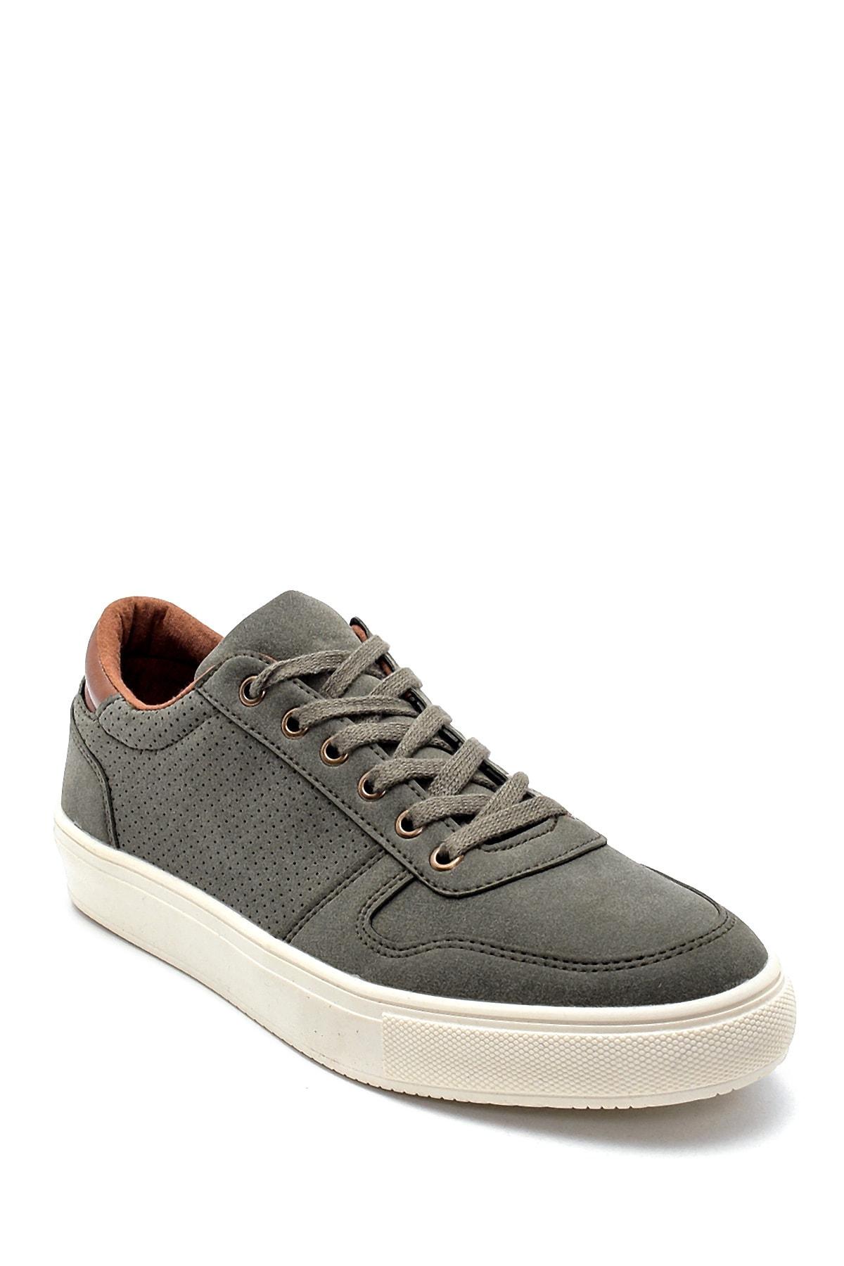Luda Cris Erkek Haki Günlük Sneaker Ayakkabı 2
