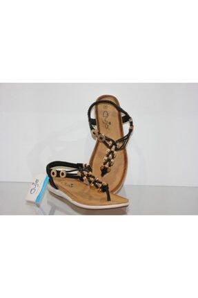 Guja Kadın Siyah Rahat Günlük Şık Sandalet Y153