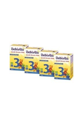 Bebivita 3 Bebek Sütü 500 gr X 4 Adet