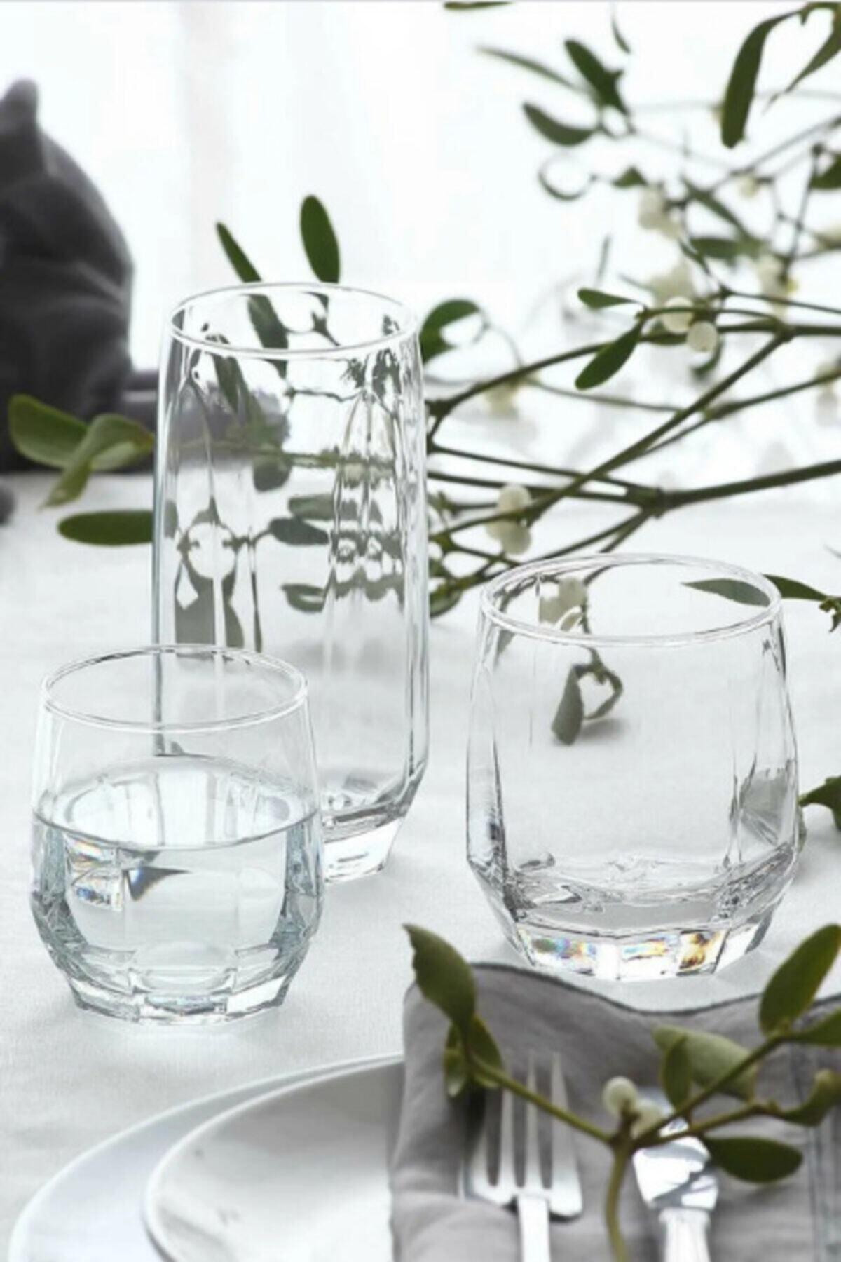 LAV Diamond Meşrubat Bardağı Seti 18'li 1