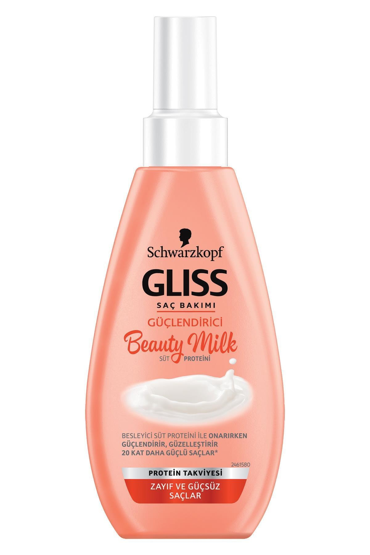 Gliss Schwarzkopf Gliss Beauty Milk-Güçlendirici Bakim Sütü 150 Ml 2