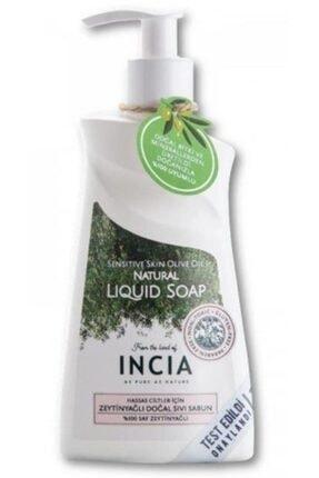 Incia Hassas Ciltler Için Zeytinyağlı Doğal Sıvı Sabun 250ml