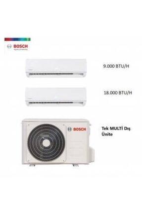 Bosch Multi Split Inverter Klima 18.000 Btü ( 1 Dış + 2 Iç Ünite) 9 + 18 Iç - 18 Dış Kombinasyonlu