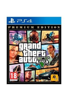 Rockstar Ps4 Grand Theft Auto Gta 5 V Premıum Edıtıon
