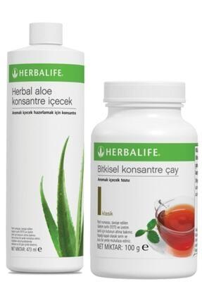 Herbalife Set Aloe Konsantre Içecek Klasik 100 G Çay Hb