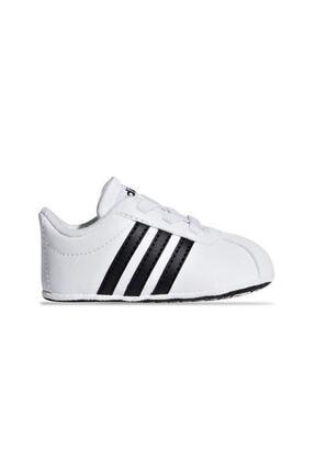 adidas VL COURT 2.0 CRIB Siyah Erkek Çocuk Sneaker Ayakkabı 100536381