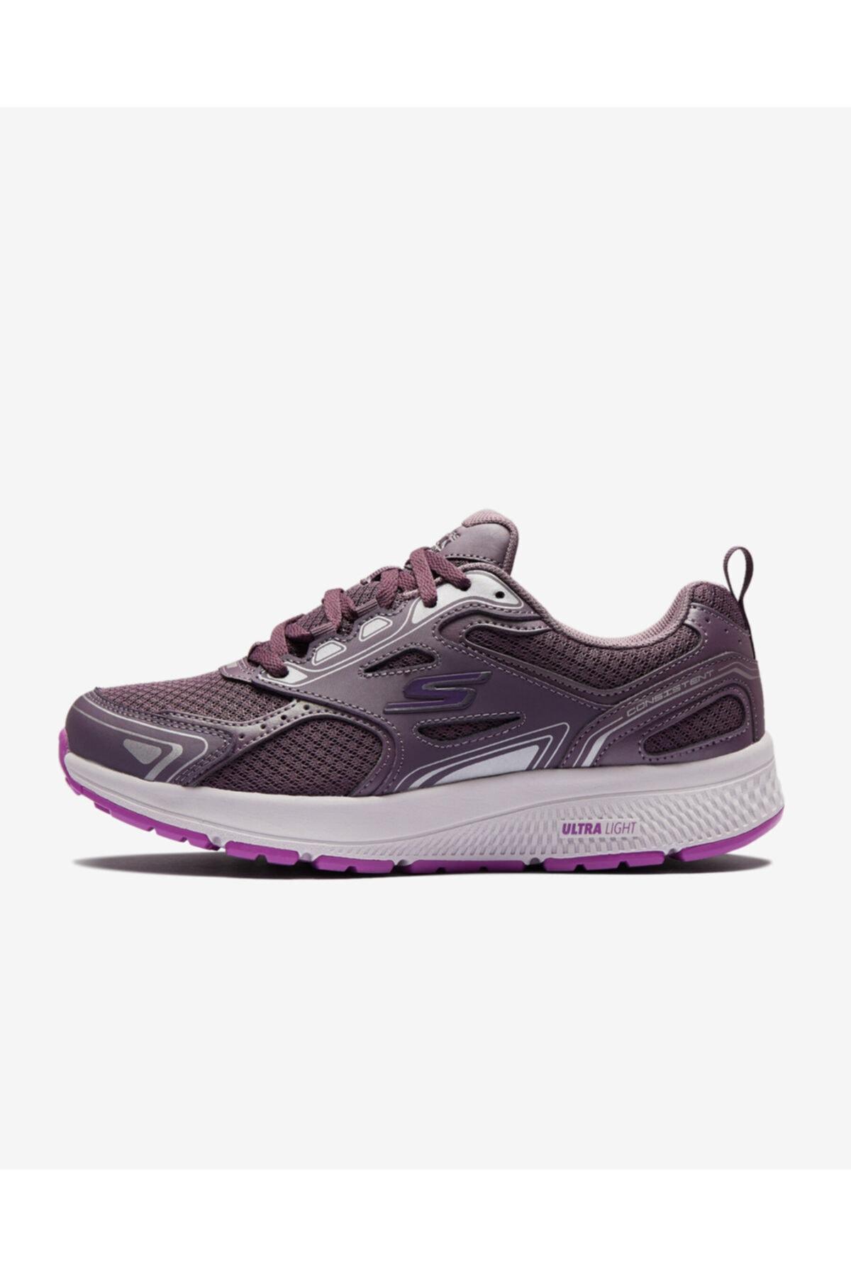 SKECHERS GO RUN CONSISTENT Kadın Gül Kurusu Koşu Ayakkabısı 1