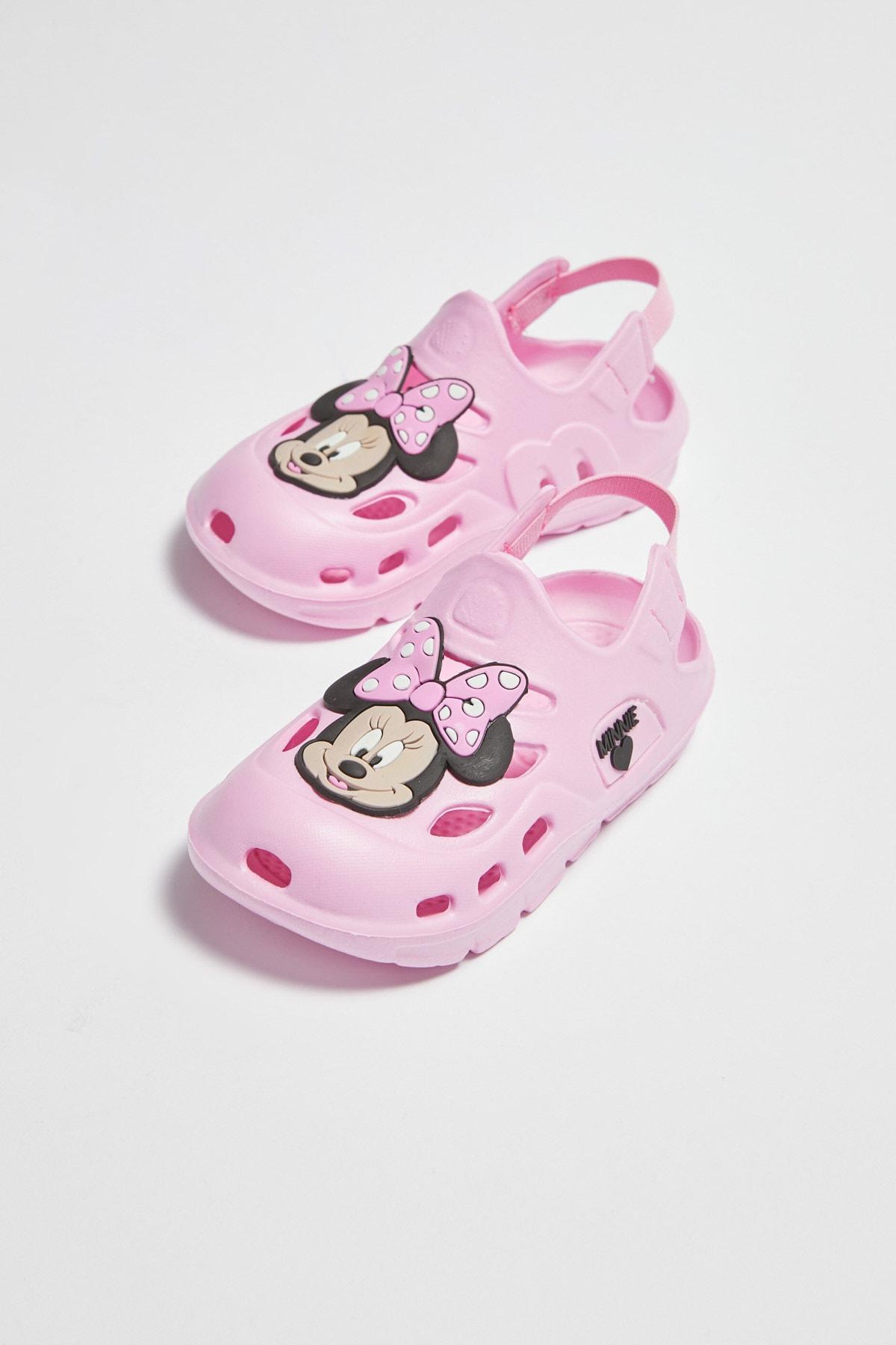 LC Waikiki Kız Bebek Açık Pembe Dmq Sandalet 2