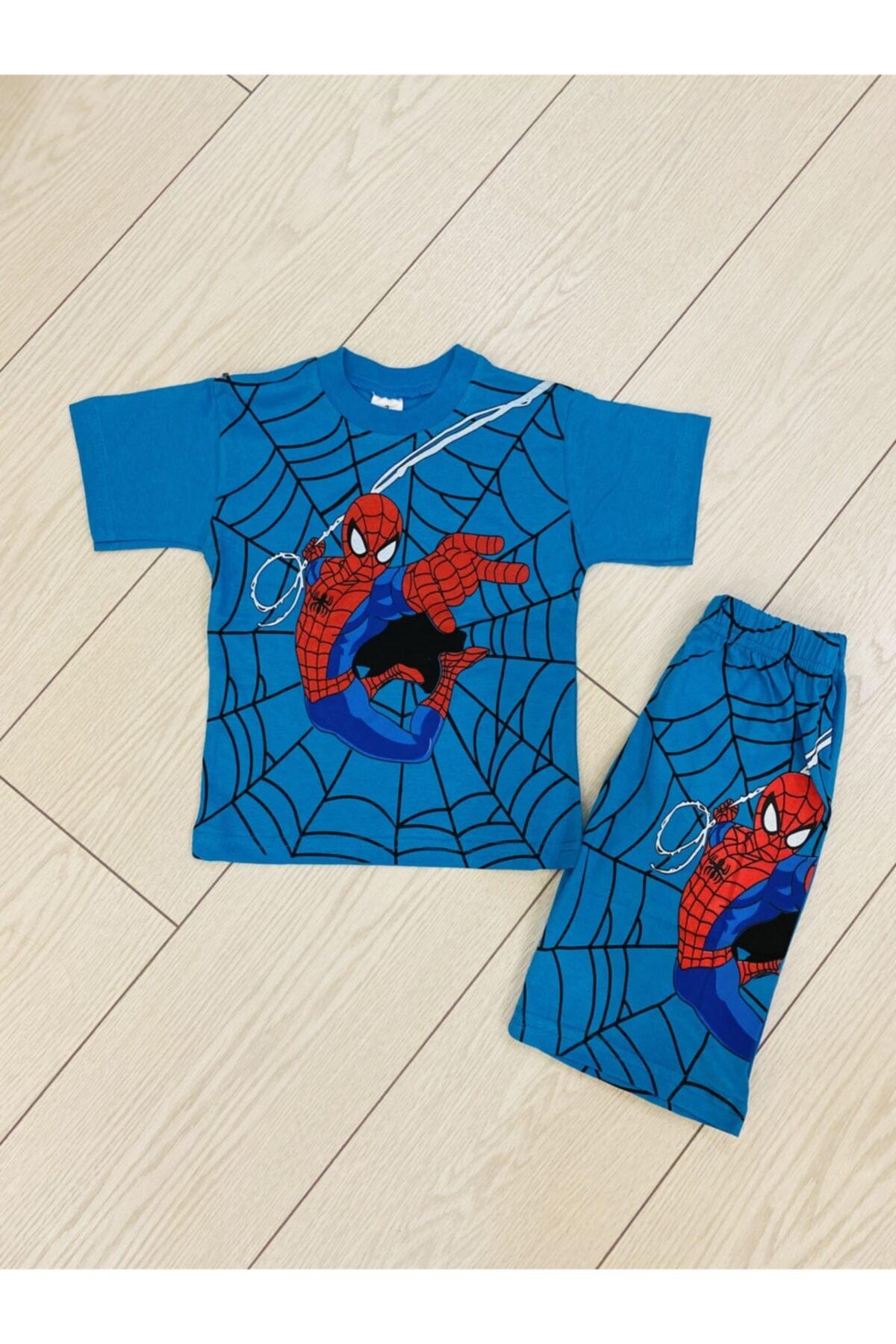 öykümgaleria Spiderman Çocuk Yazlık Takım 1