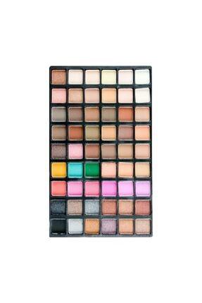 Ocean Makyaj Göz Farı 54'lü Palet - Göz Farı 54 Renk - Far Paleti