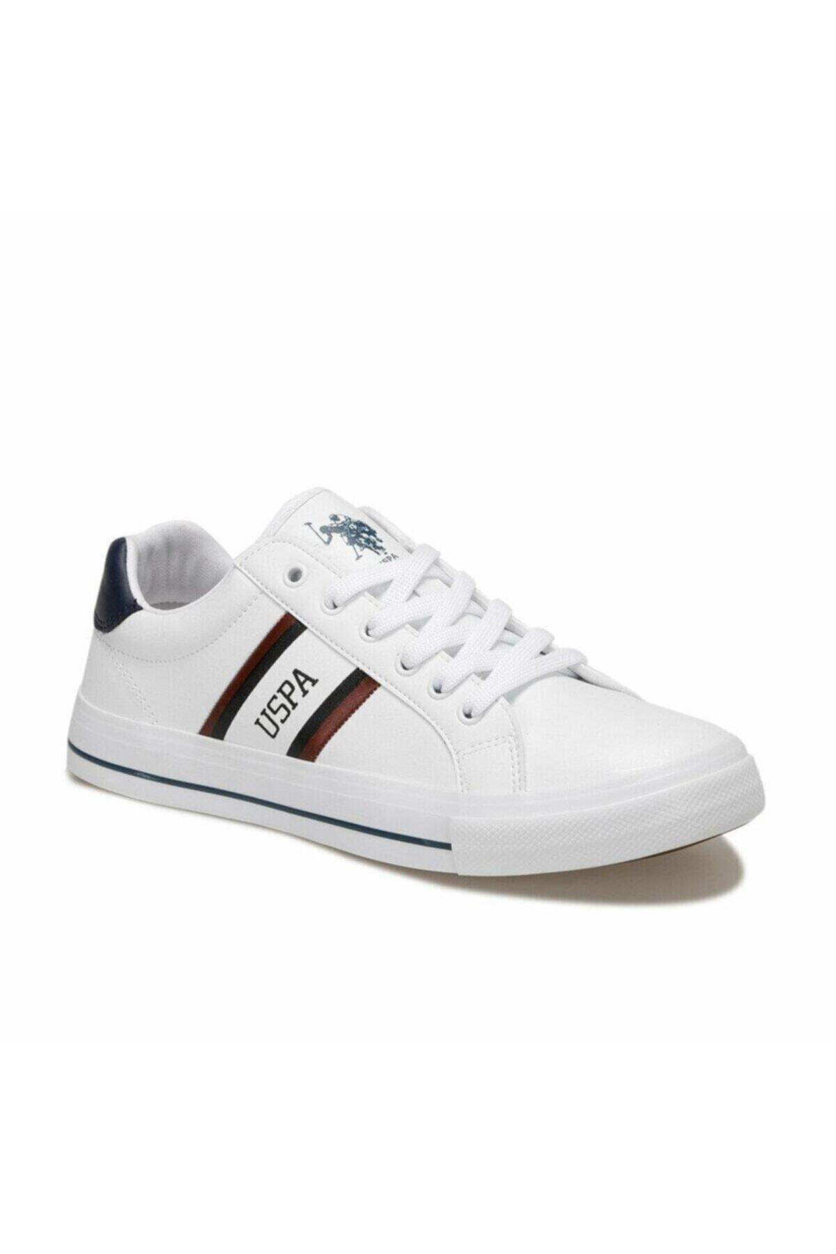 U.S. Polo Assn. PURE Beyaz Erkek Sneaker 100504852 2
