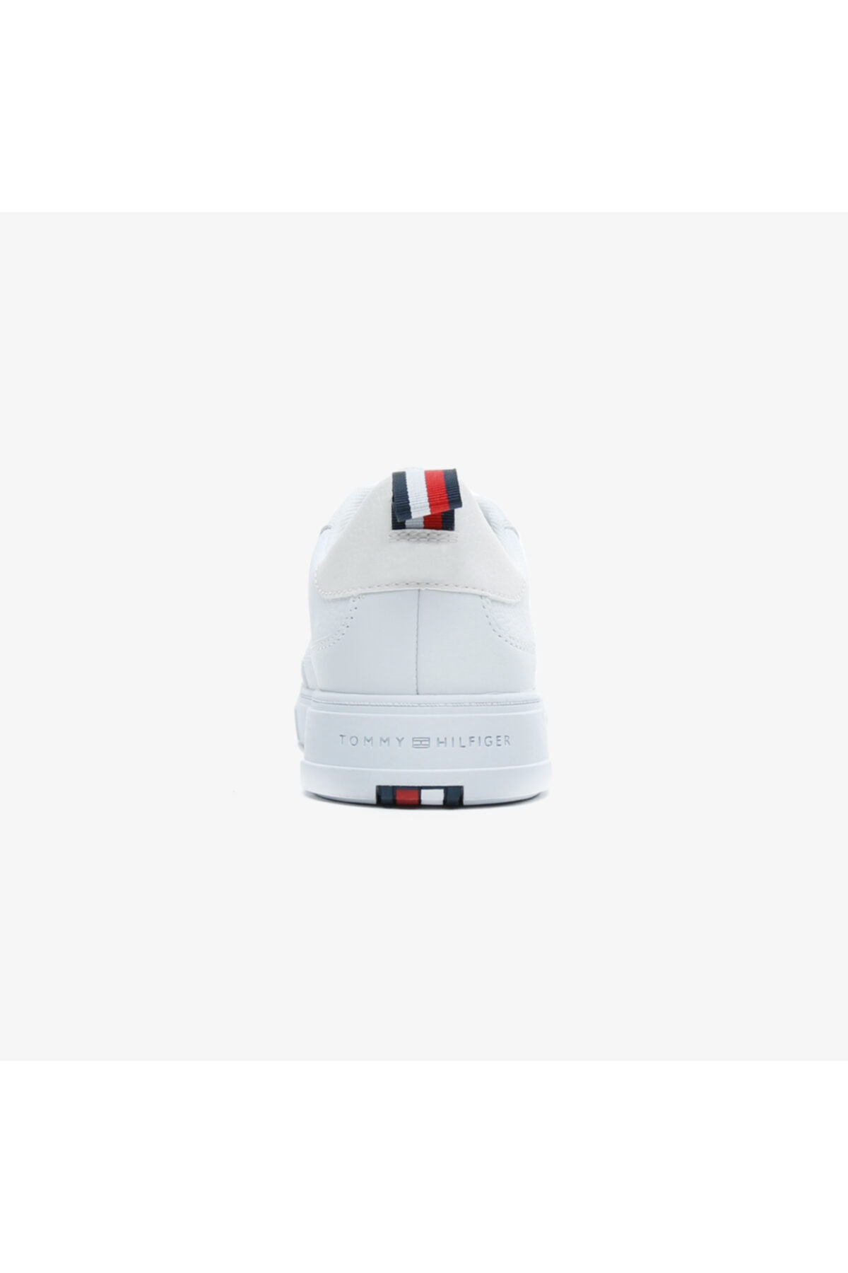 Tommy Hilfiger Erkek Beyaz Modern Cupsole Leaer Spor Ayakkabı 2