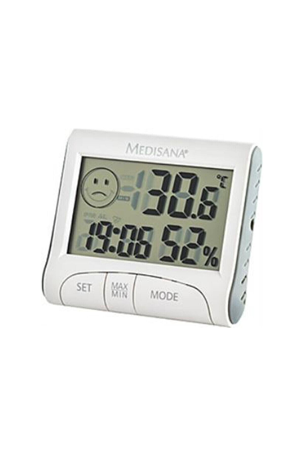 medisana Dijital Termometre Nem Ve Isı Ölçer + Alarm Saat 60079 2